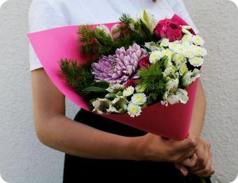 цветы на 1 сентября недорого