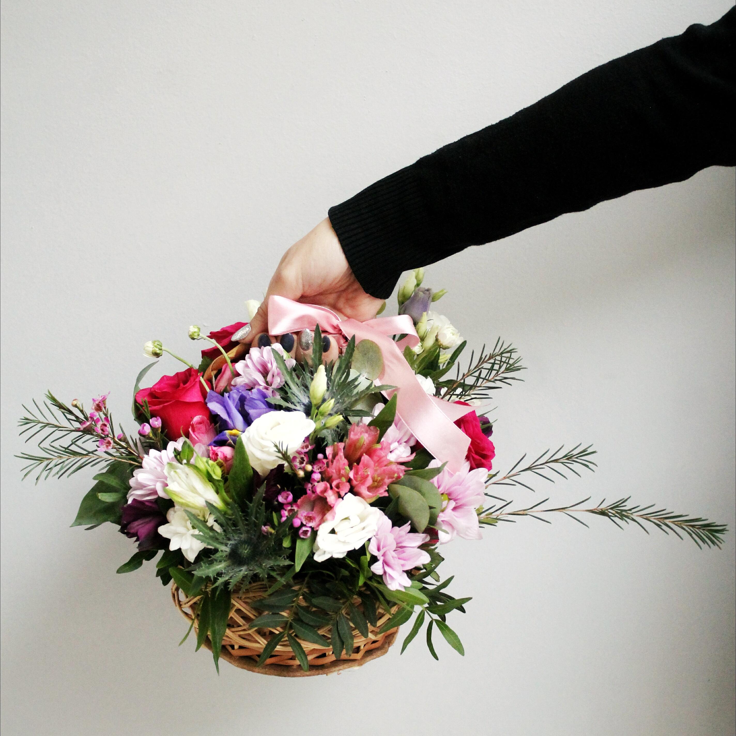 Цветы корзинки цена — 10