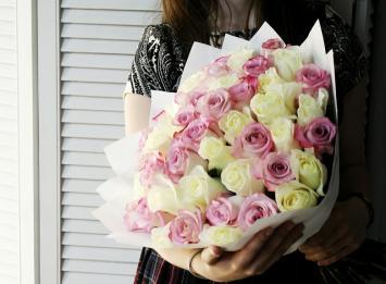 51 роза 40 см недорого