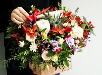 цветочные композиции цена