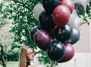 связка воздушных шаров цена