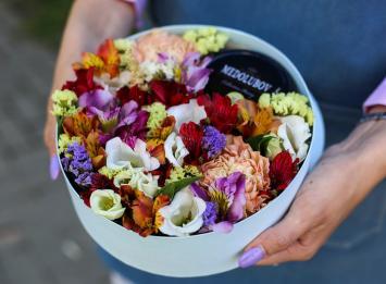 коробочка с медом и цветами цена