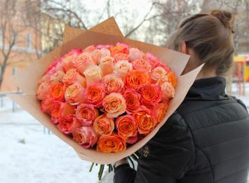 51 роза 50 см цена