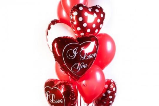 воздушные шарики в подарок