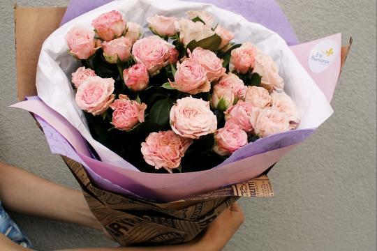 кустовые пионовидные розы цена