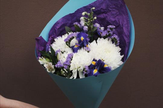 букетик цветов недорого