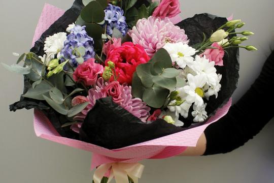 букетики цветов недорого