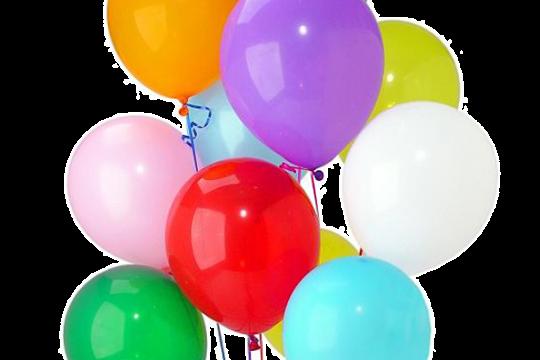 5 воздушных шаров