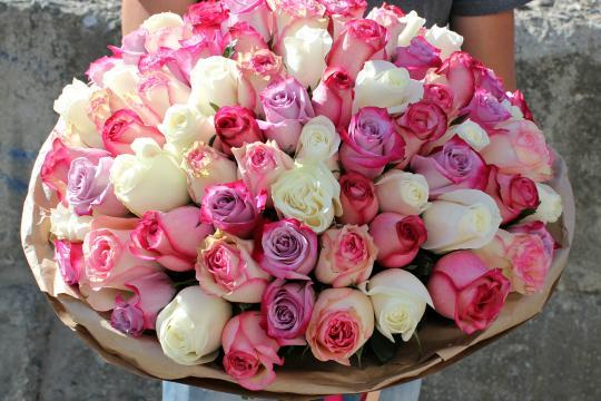 Букет из 101 розы цена
