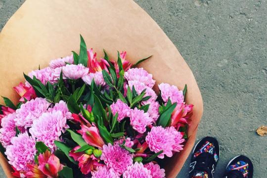 Какой букет цветов