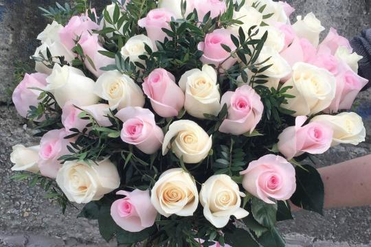 Цветы букеты цвет