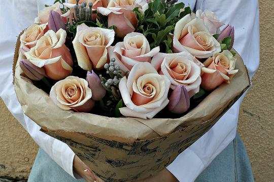 Матовая роза