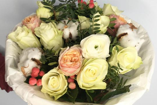 Классные букеты роз