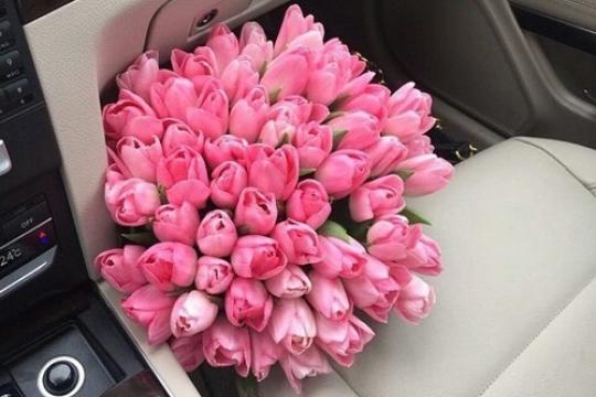 Букет тюльпанов с доставкой