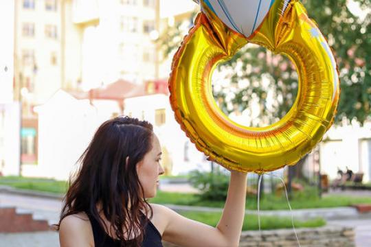 воздушный шарик - кольцо цена