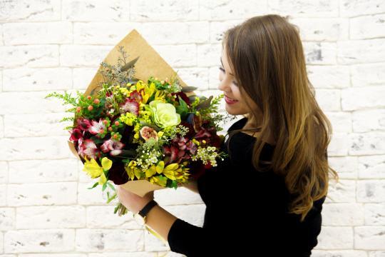 Букет цветов в Екатеринбурге