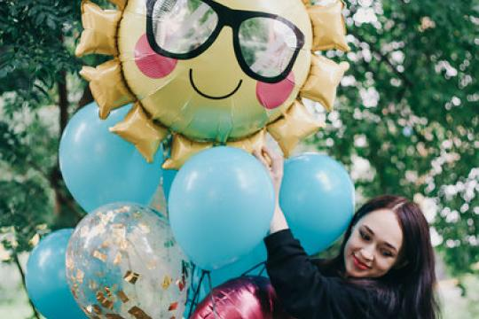 воздушный шар солнце цена